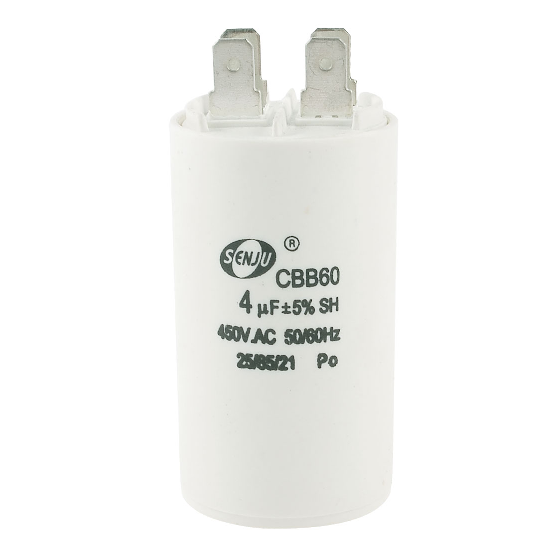 450VAC 4uF Air Conditioner Cylindrical Motor Run Capacitor CBB60