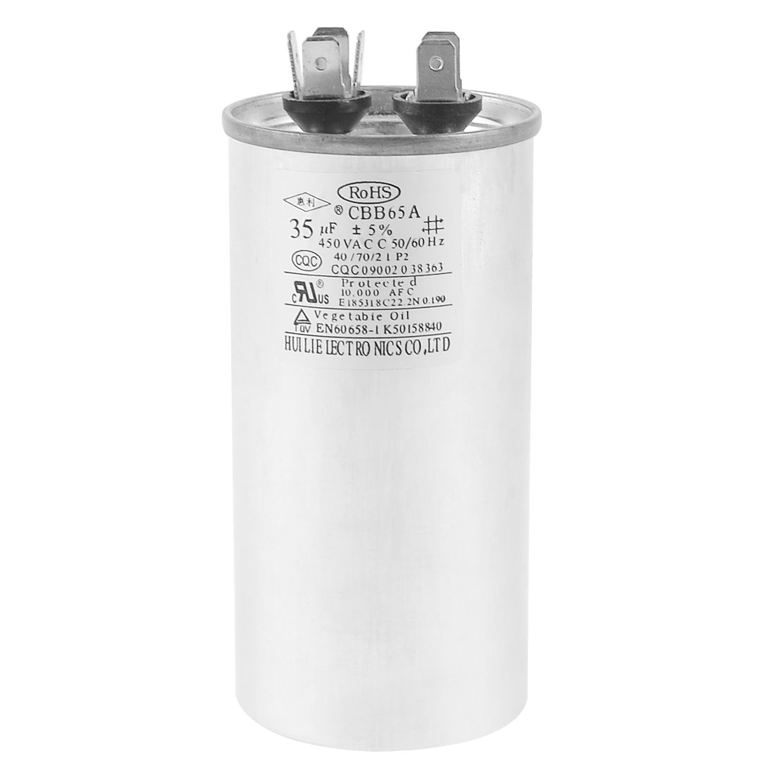 CBB65A 450VAC 35uF Non Polar Motor Running Capacitor for Air Conditioner