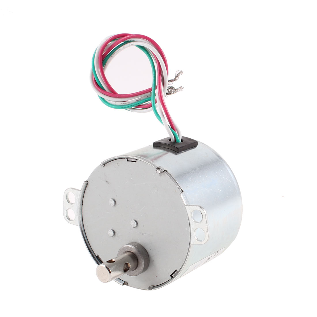 220VAC 6W 16.7RPM Synchronous Electric Gear Box Motor w Capacitor