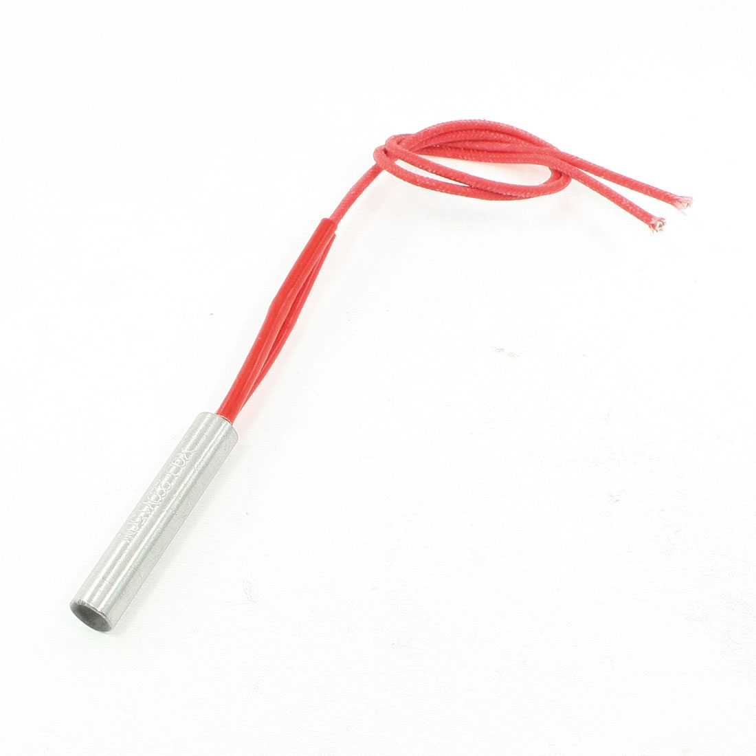 Red Wired 220V 150W 10mm x 50mm Cartridge Heater Heating Element