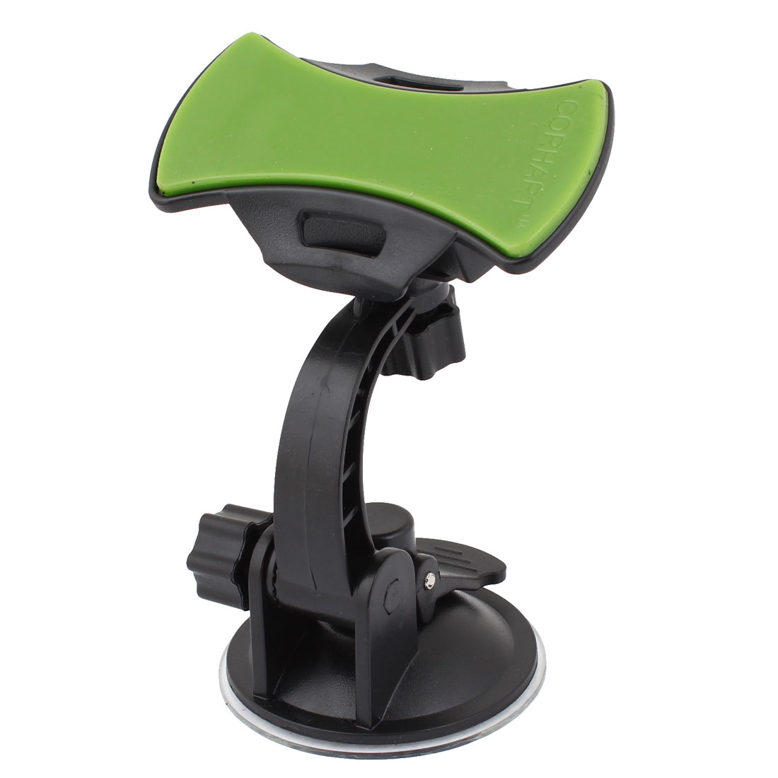 Black Adjustable Angle Dashboard Suction Mounted Phone Holder for Car