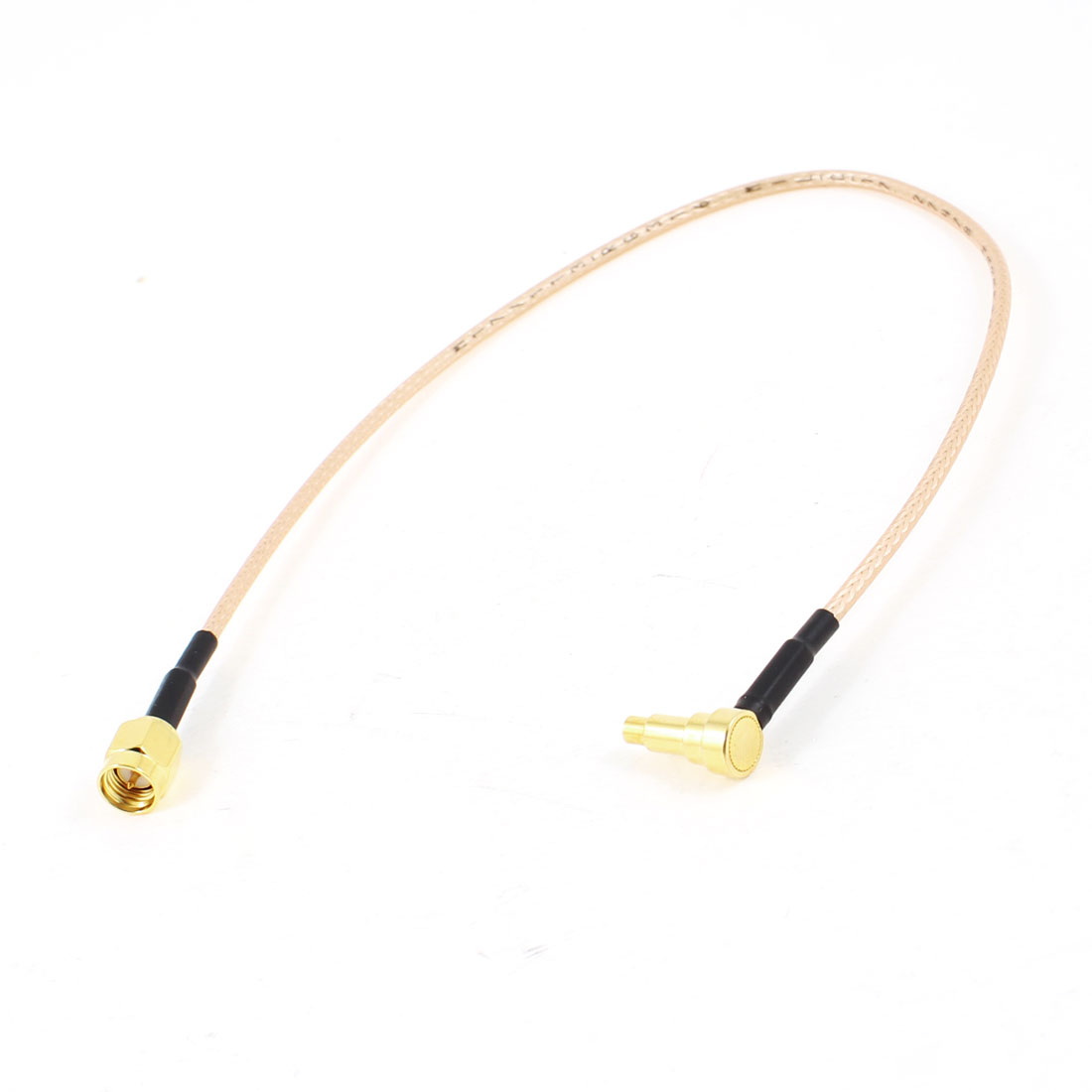 Gold Plated SMA Male Pin to CRC9 Male Adapter Connector Pigtail Cable