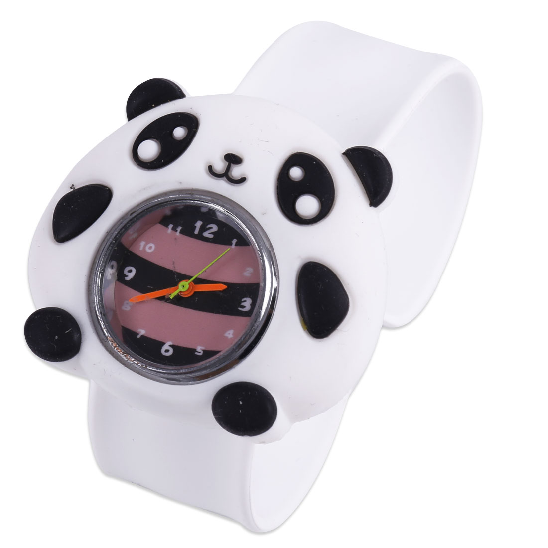 NEWS Boys Girls Adjustable Strap Leisure Panda Wrist Watch White