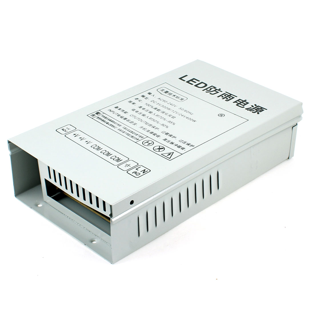 AC 220V DC 12V 30A 360W Rainproof Power Supply Transformer for LED Striplight