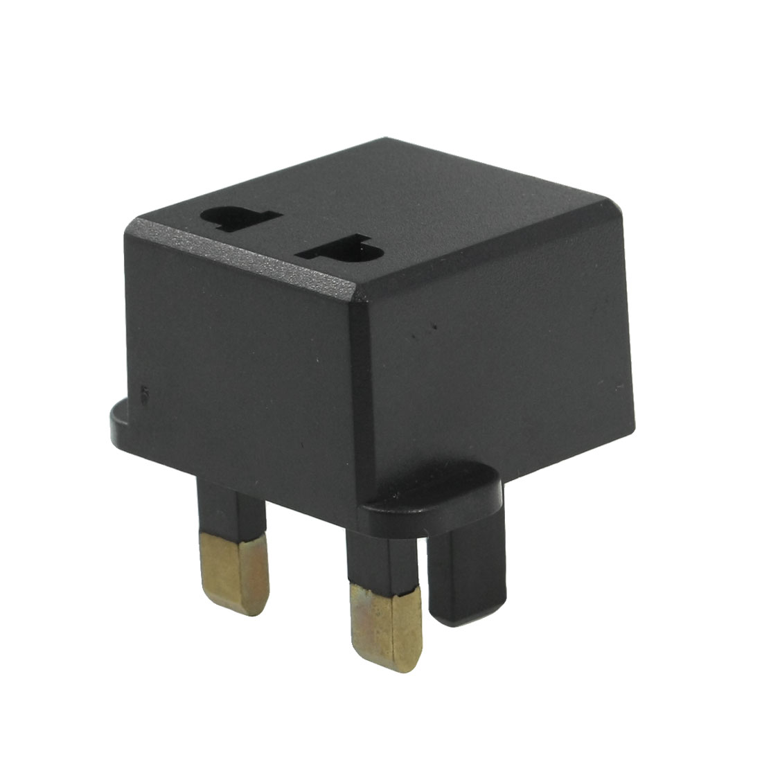 UK Type to 2 Pin US/EU Socket Travel Power Plug Adapter 125V/250V 6A