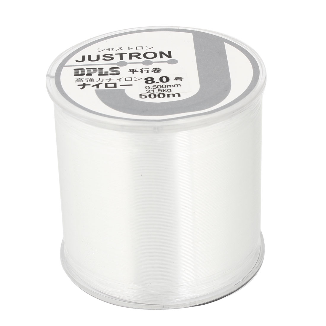 8.0# 0.500mm Diameter 500M Thread 21.5Kg 47.4 lb Fishing Line Spool Clear