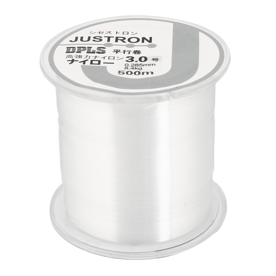 3.0# 0.285mm Diameter 500M Thread 8.4Kg 18.5 lb Fishing Line Spool Clear