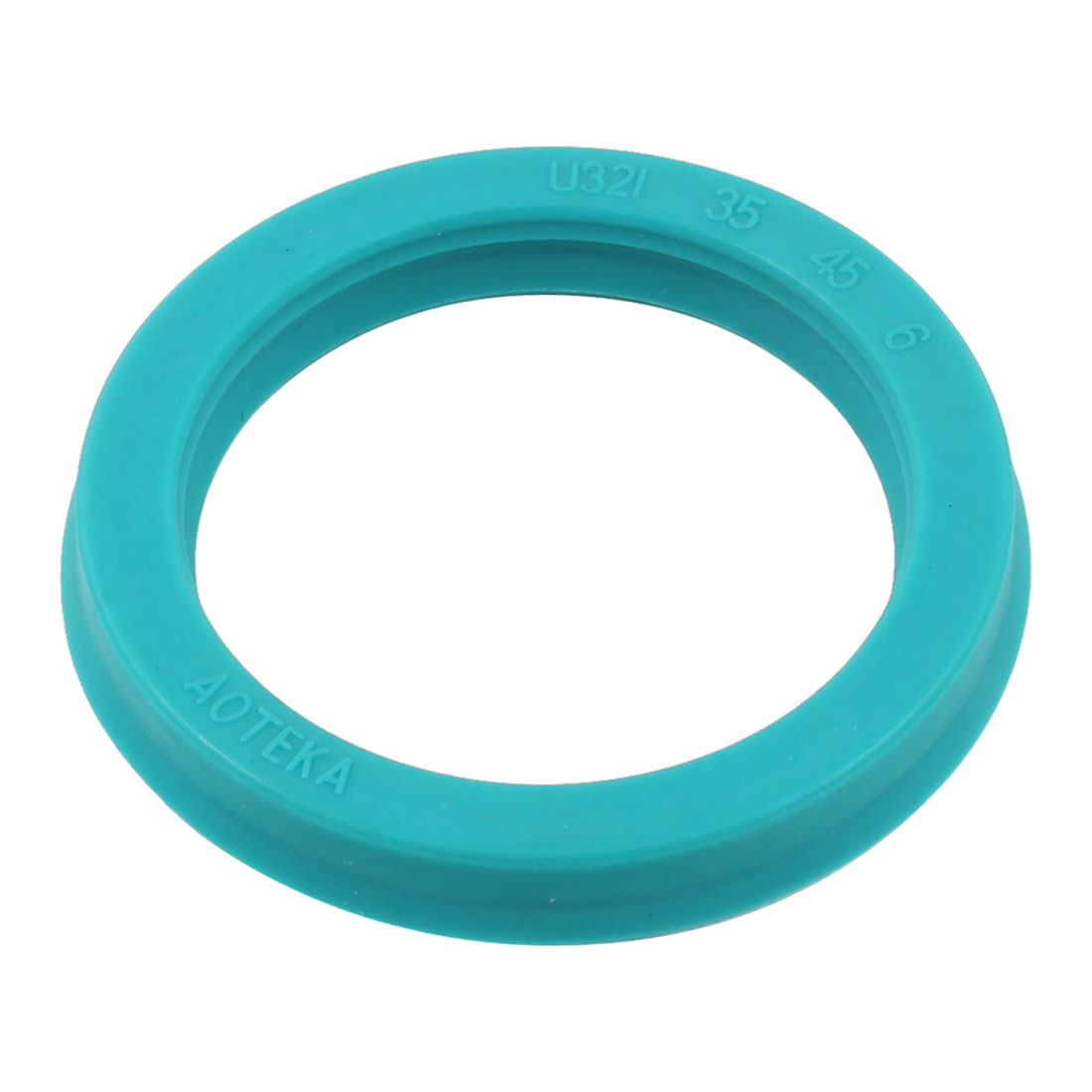 PU Single Lip Metric U Cup Oil Seal 35mm x 45mm x 7mm U32i for Piston Rod