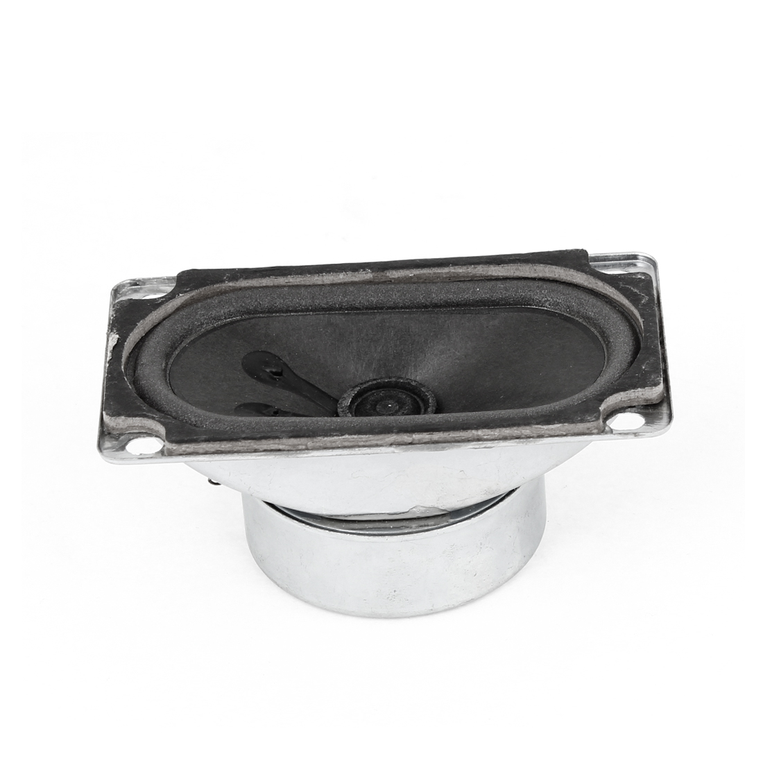 Vehicle Car Spare Part 90mm x 50mm Square Mount LCD TV Speaker 10W 4 Ohm
