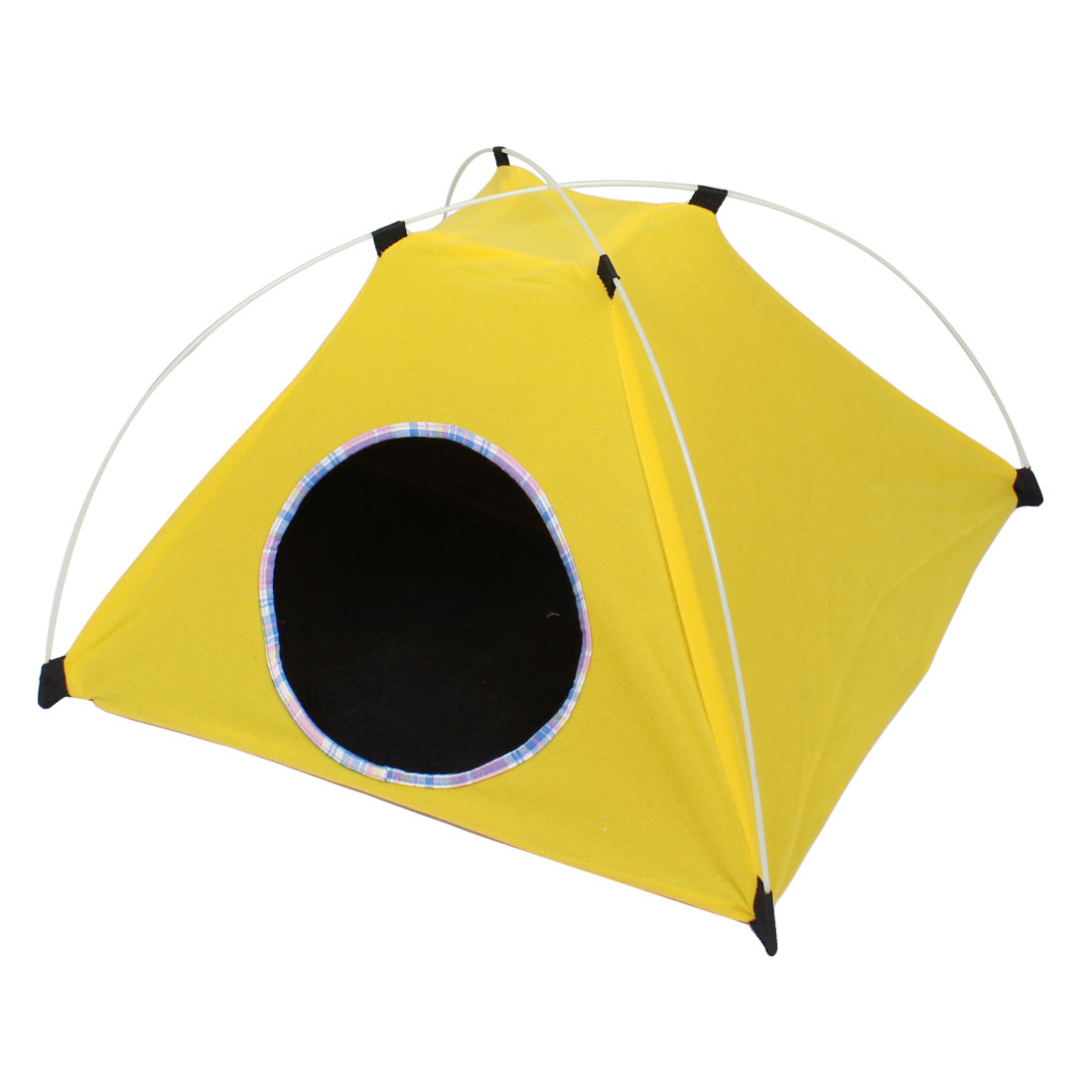 Folding Pet Dog Outside Travel Warm Tent Nest Kennel Bag Yellow