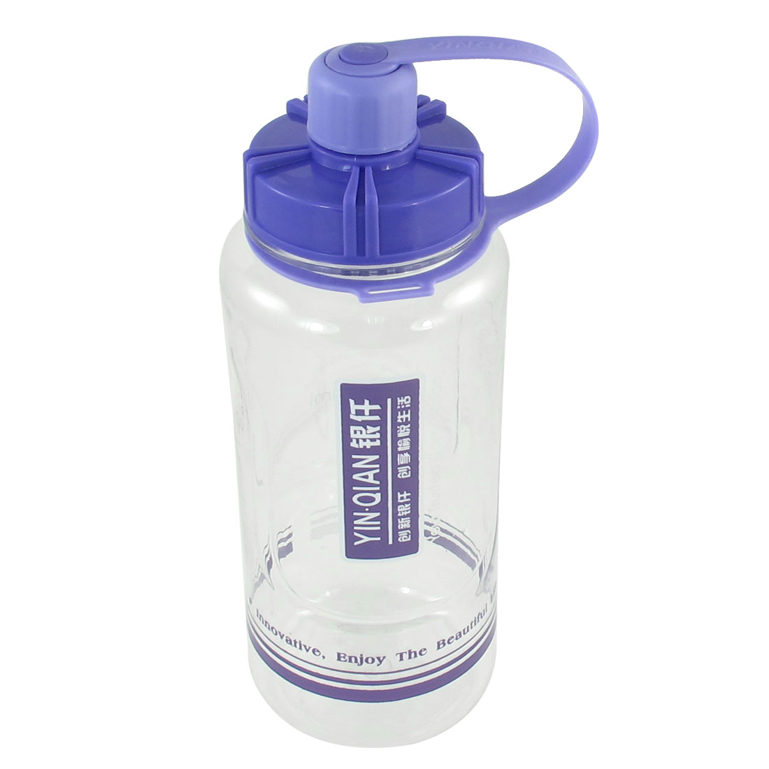 Traveling Outdoor Sport Plastic Clear Tea Water Drink Bottle Cup 1000ml