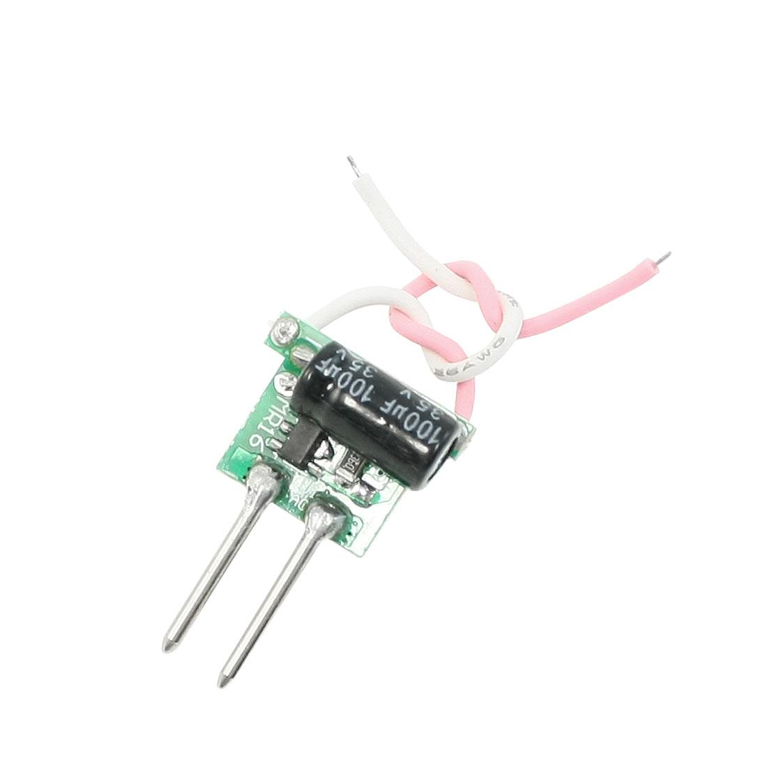AC 110V-220V Input DC 8V-11V Output 3x1W LED Power Supply Module
