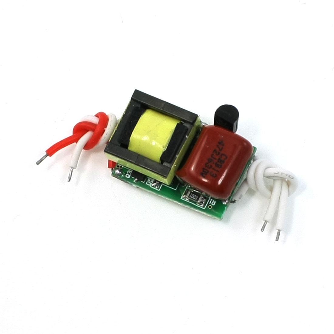AC 110-220V DC 8-11V 300mA Power Supply Adapter for 4x1W LED Strip Light