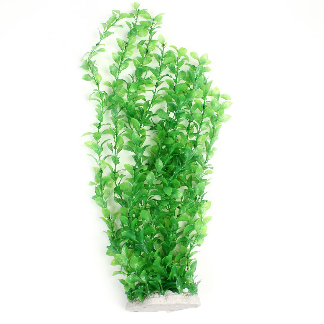 47cm Height Green Plastic Underwater Grass Ornament for Fish Tank