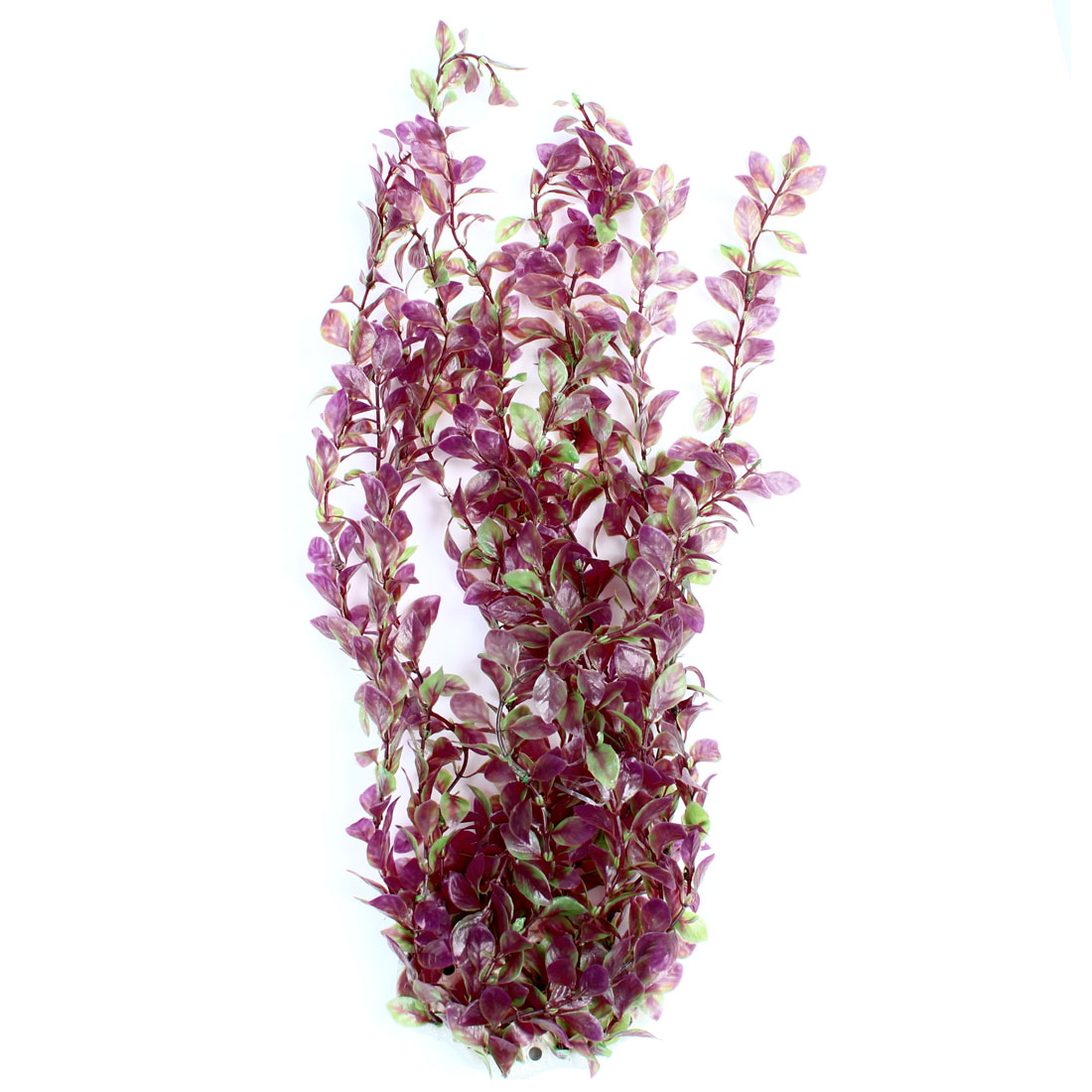 47cm Height Underwater Grass Ornament Green Purple for Aquarium