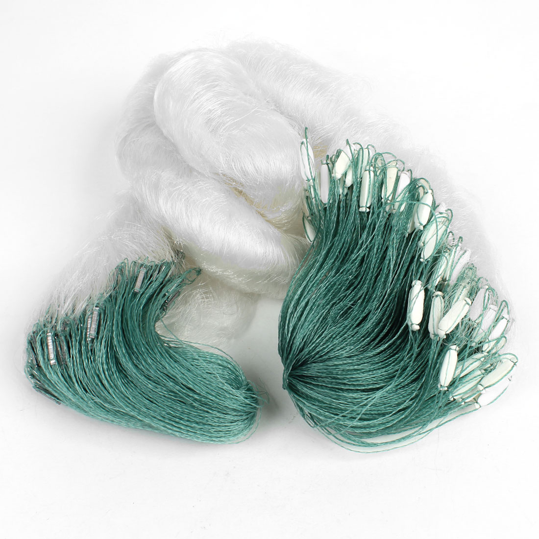 Gillnetting 2.5cmx2.5cm Mesh Net Fishing Gillnet 40mx1.1m w Fish Floats