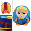 Kids Buckle Straps Zip Up Solid Cartoon Duck Backpacks Multicolor