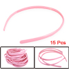 Classic for All Hair Types Plastic Head Band Pink