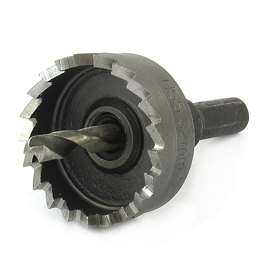 32mm Iron Cutter Metal Twist Drill Bit Hole Saw Tool Gray