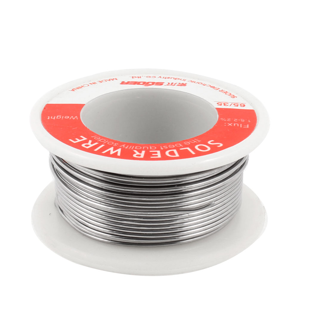 0.8mm Diameter 65/35 Flux Tin Lead Solder Soldering Wire Spool 1.3M Length