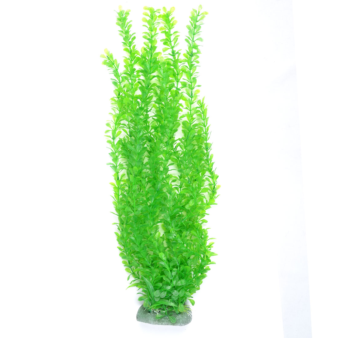 "20.1"" Fish Tank Fishbowl Aquascaping Ornament Plastic Water Plant Green"