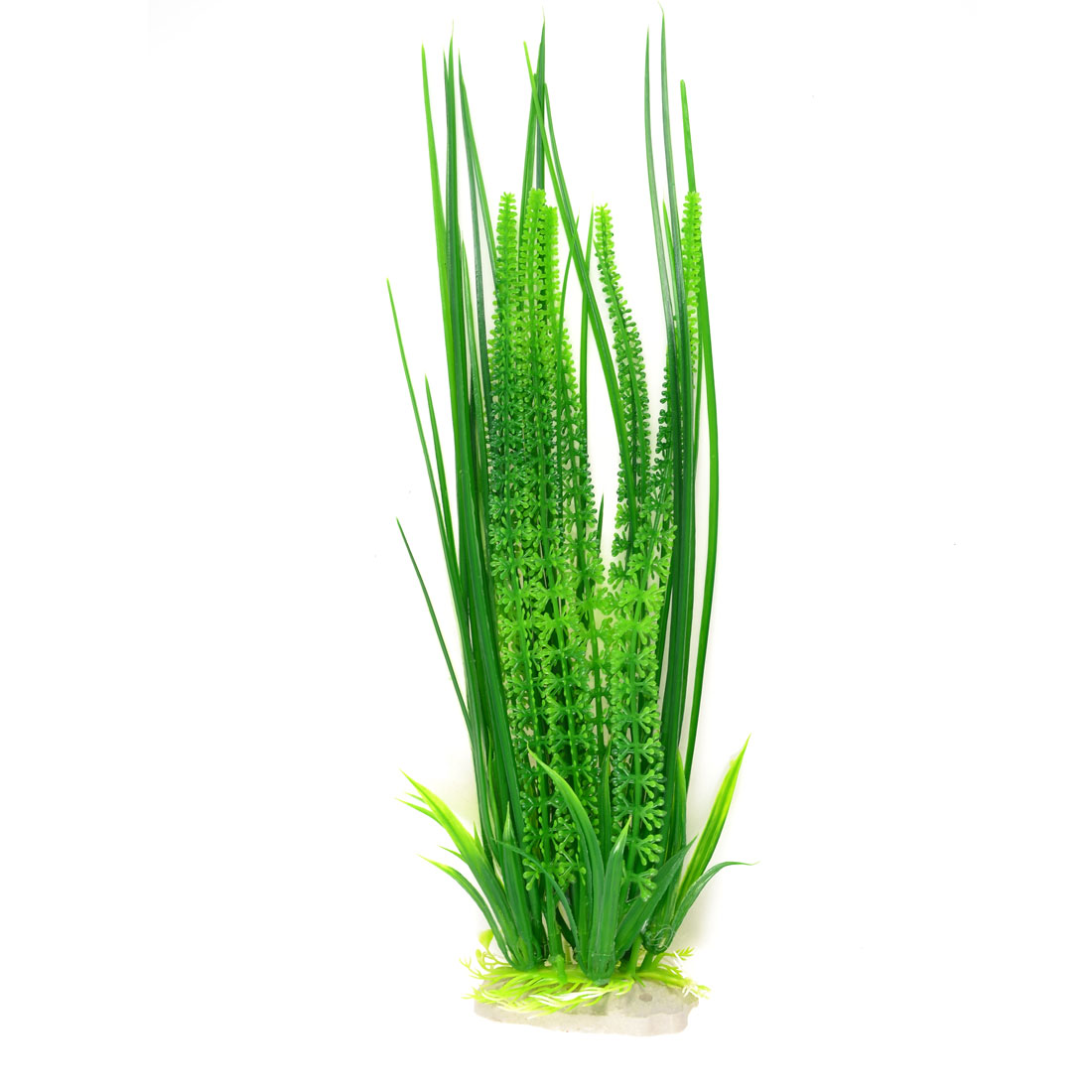 "16.1"" High Landscaping Green Manmade Aquarium Underwater Plant Decoration"