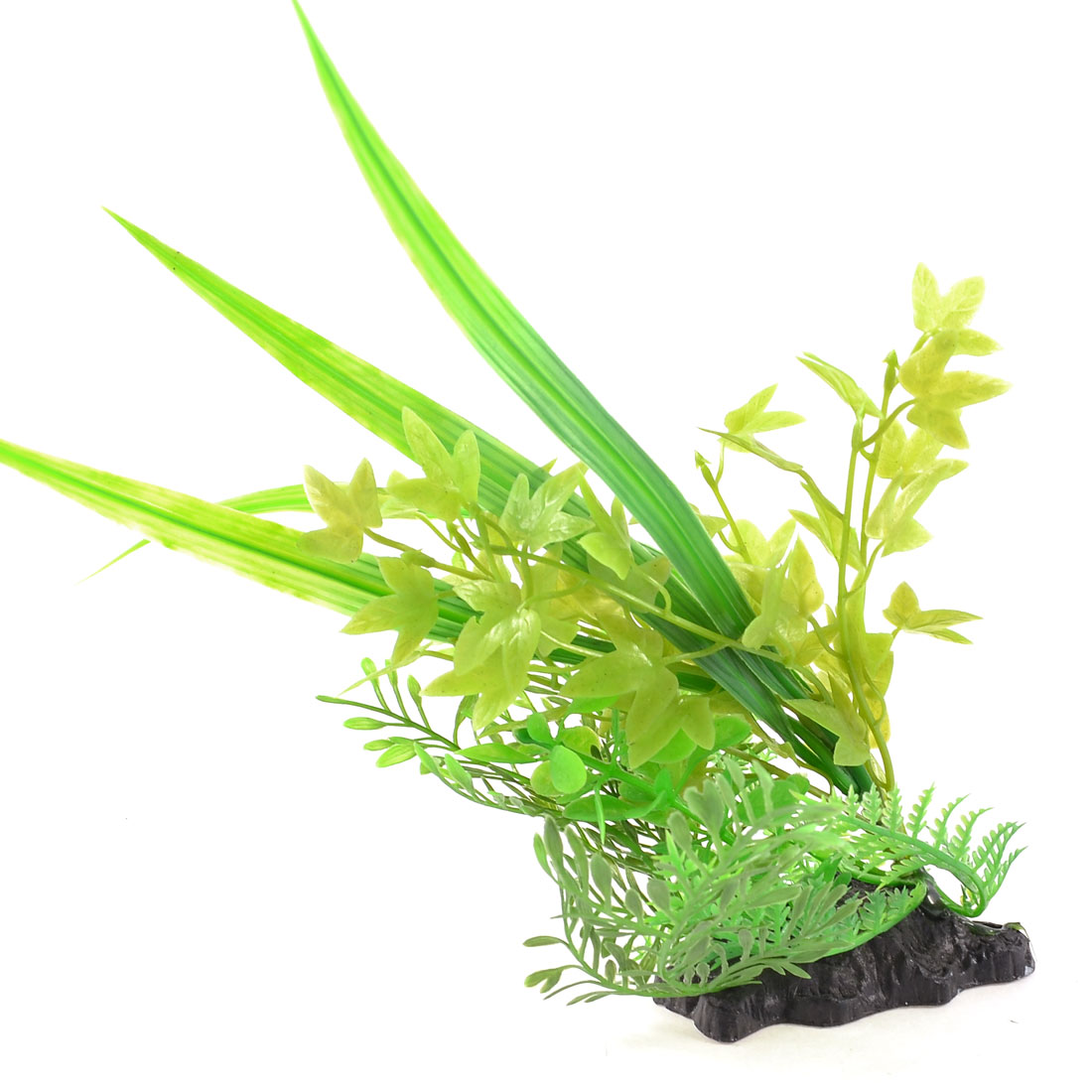 "Green Artificial Fish Tank Underwater Plant Grass Decoration 9.1"" Height"