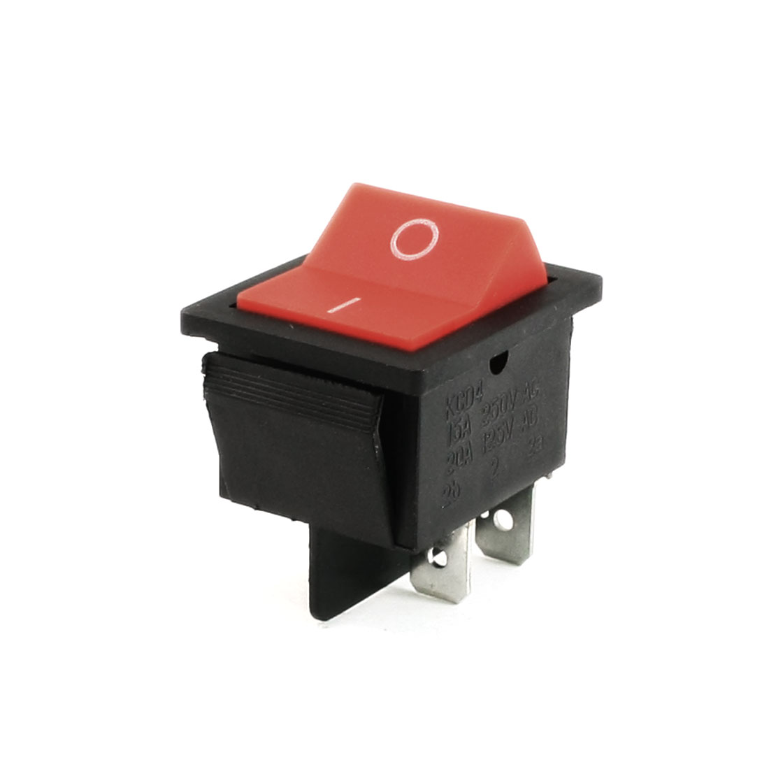 AC 250V/15A 125V/20A 4 Terminals DPDT ON/OFF Reset Rocker Switch