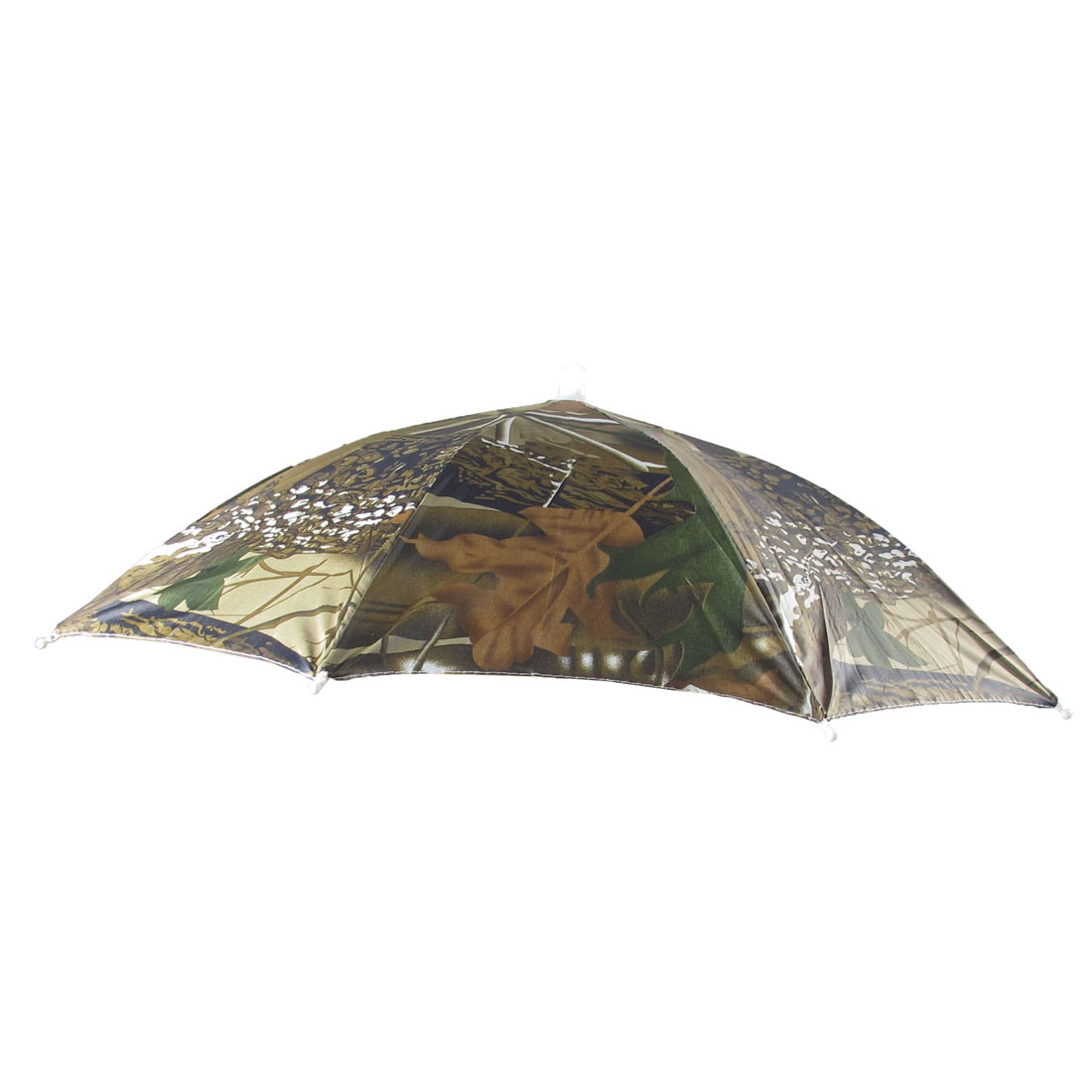 Black Army Green Brown Elastic Headband Headwear Umbrella Hat