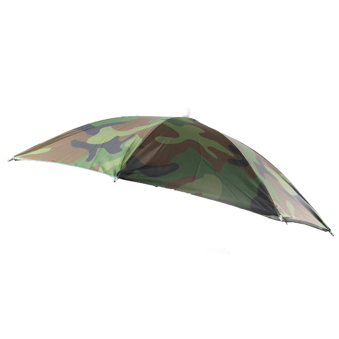 Fishing Outdoor Sports Camouflage Pattern Polyester Umbrella Hat