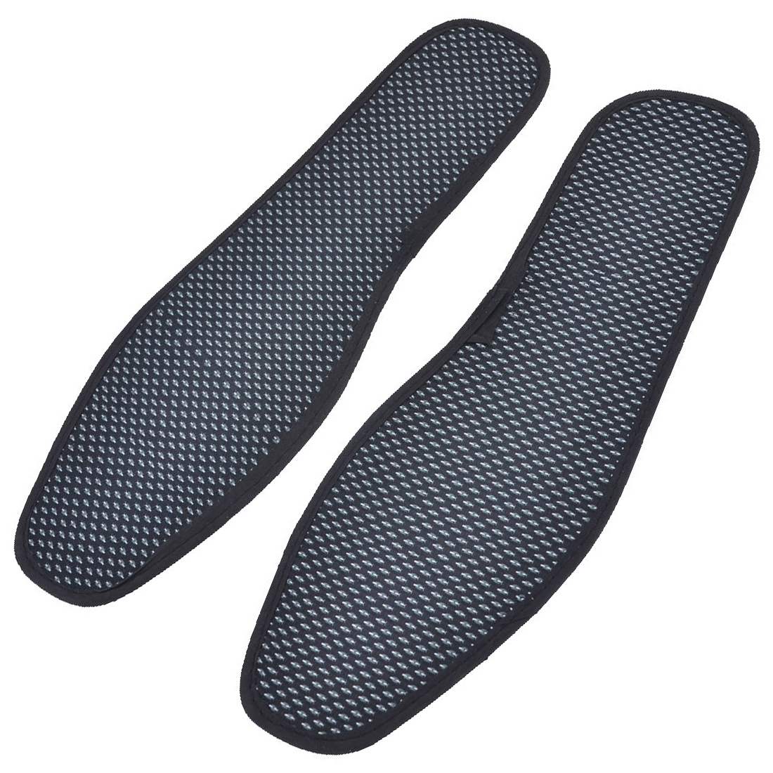 Pair Textured Nonslip Shoe Pads Insoles Black White UK Size 8.5 for Men