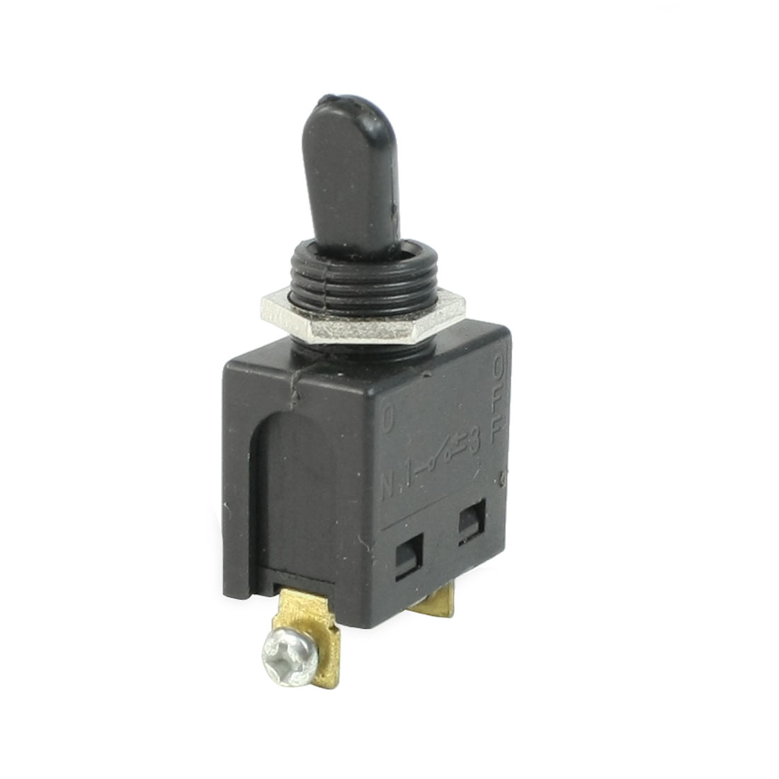 FD2-4/1W AC 250V 4A SPST NO 2 Positions ON/OFF Latching Toggle Switch