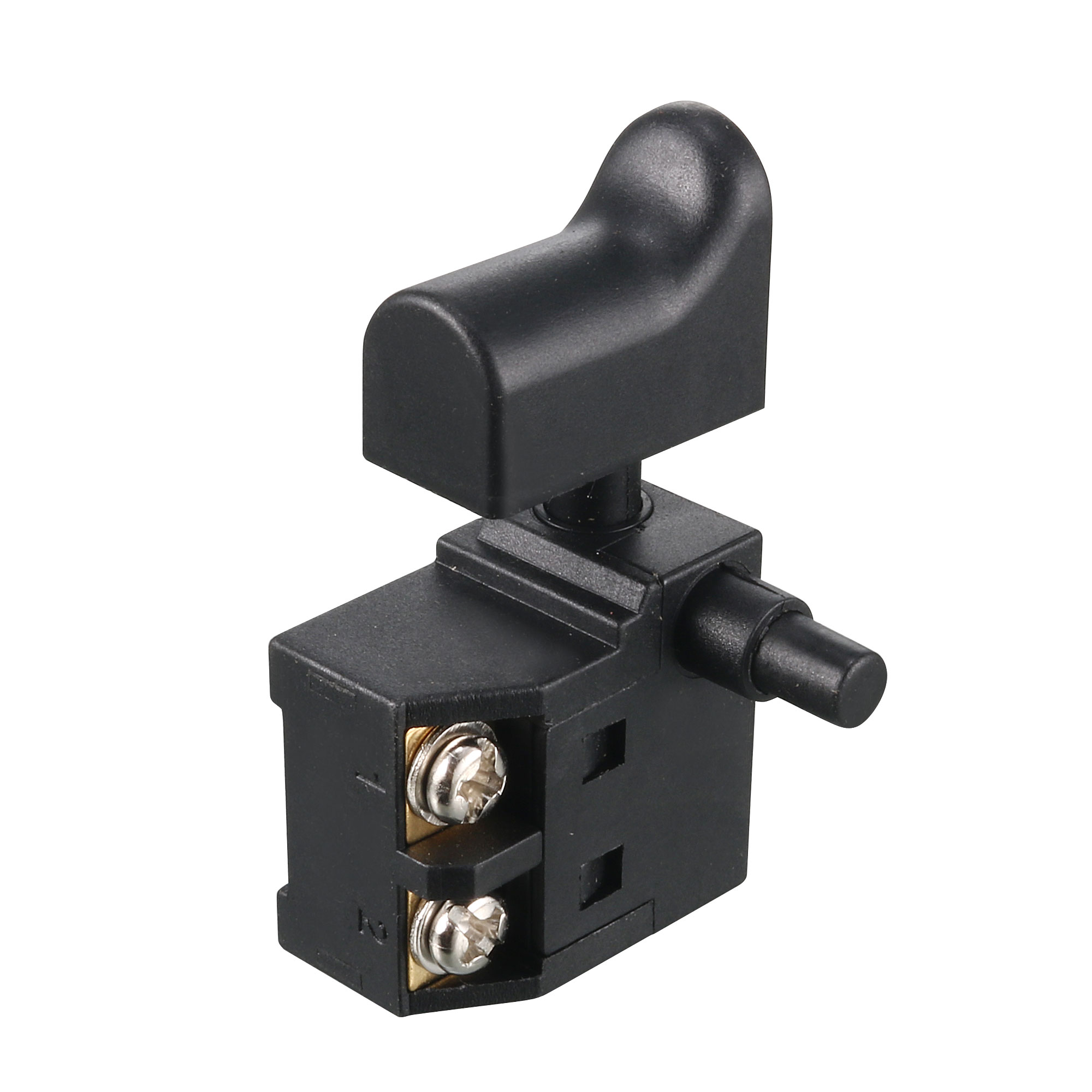 AC 250V 6A SPST Lock on Electric Tool Part Trigger Switch