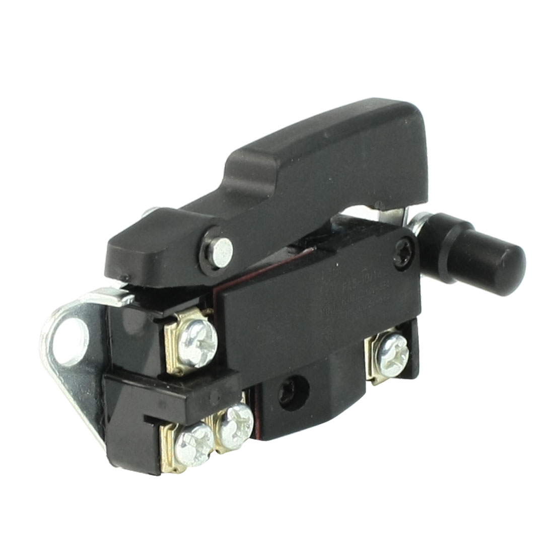 AC 250V/12A 125V/20A SPST NO Manual Lock on Electric Trigger Switch