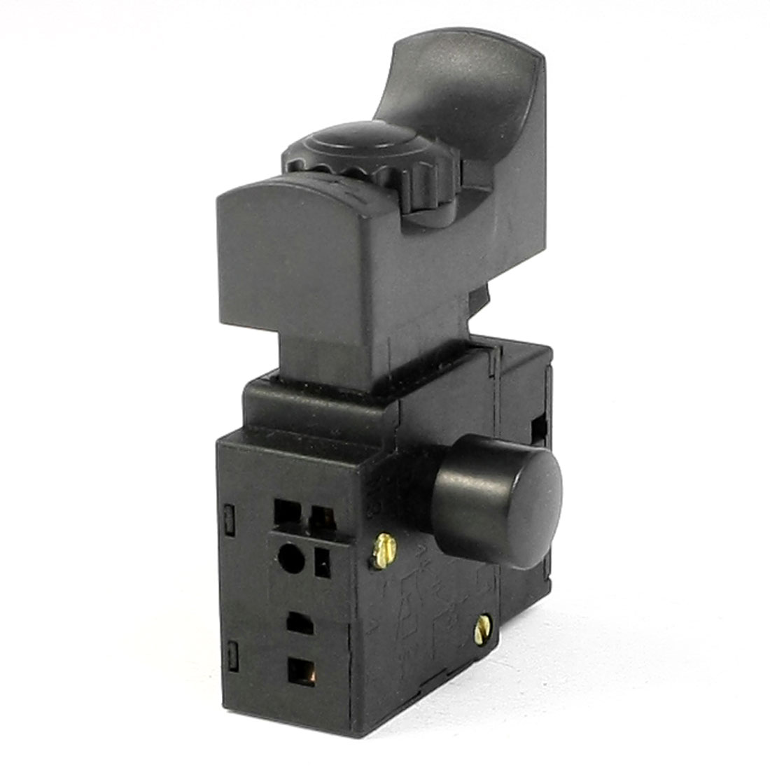 AC 250V 6A Speed Control Optional Lock on Electric Trigger Switch