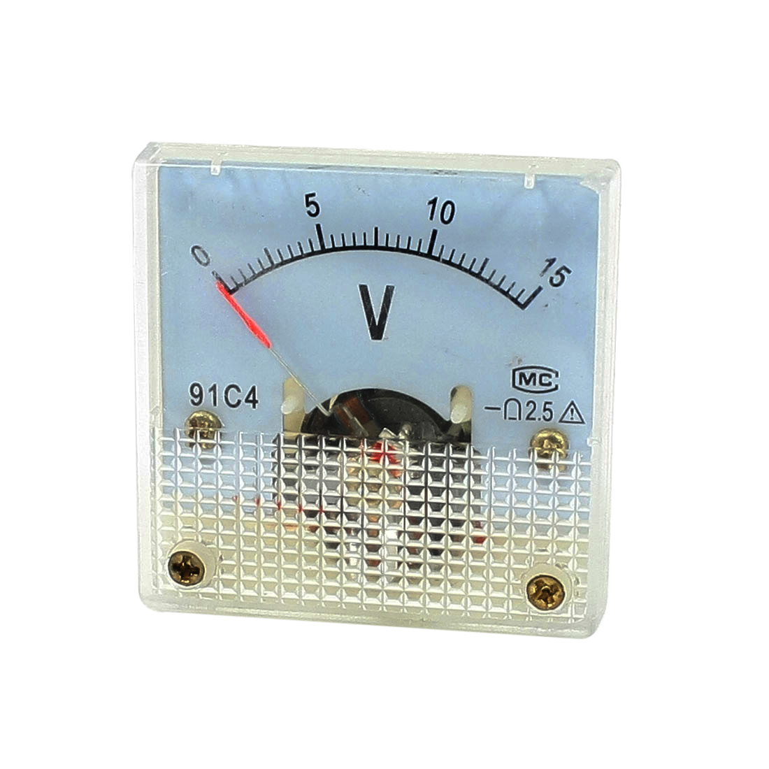 Class 2.5 Accuracy DC 0-15V Analog Voltage Panel Meter Voltmeter