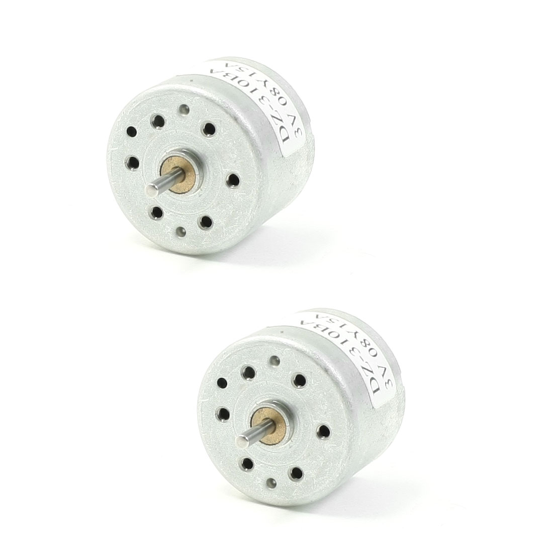 2 Pcs DZ-310BA 3V DC 1800RPM Mini Motor for DVD CD Repair USB Fans