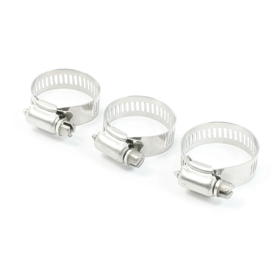 3 Pcs Hollow Out Hardware Parts 12mm Wide Hose Pipe Fastener 18-32mm Clamps Hoop