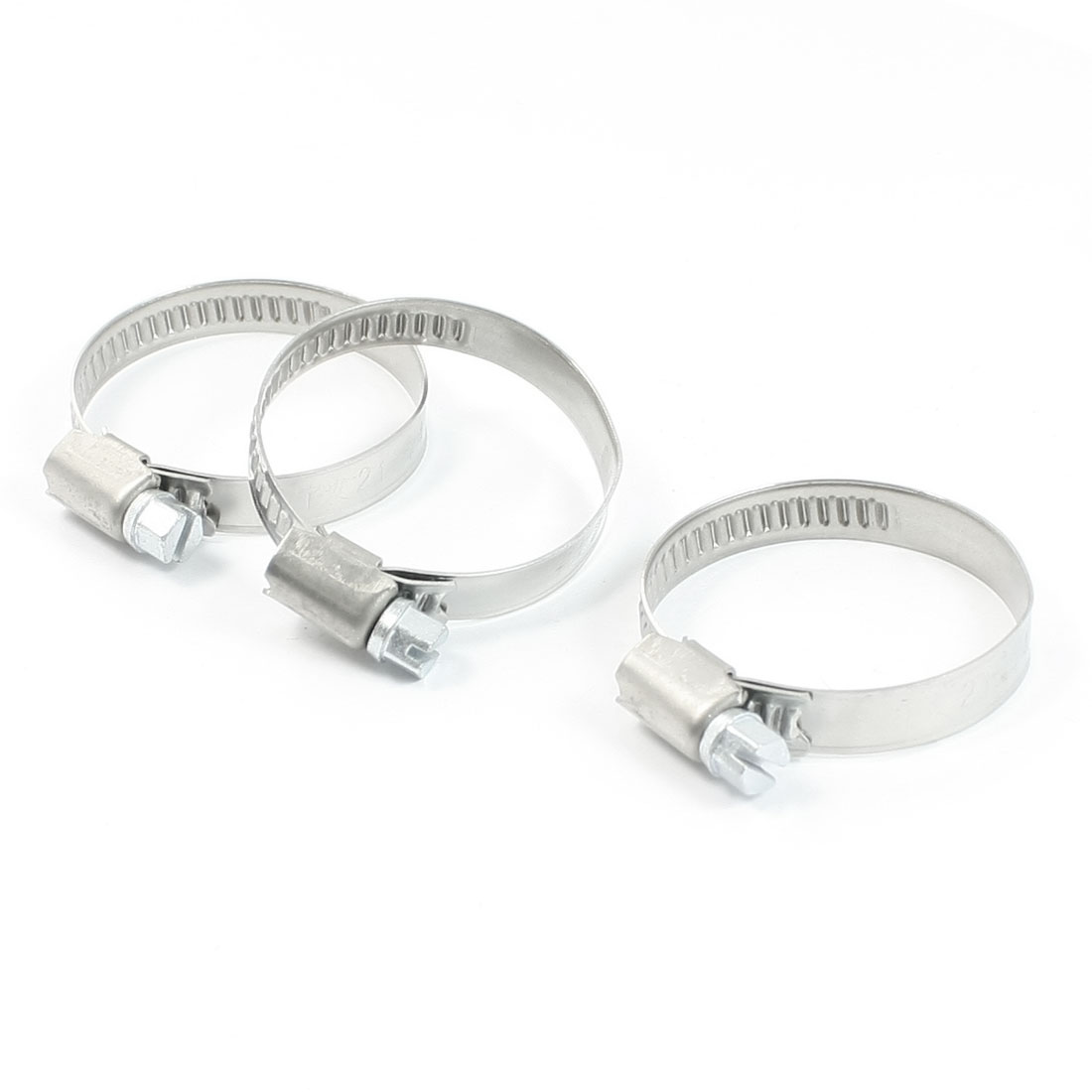 3 Pcs Universal Hardware Parts 9mm Wide Hose Pipe Fastener 21-44mm Clamps Hoop