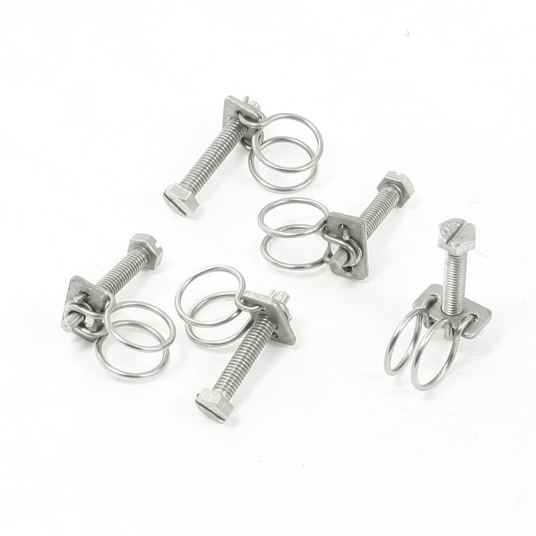 Universal Hardware Parts 13mm Dia Water Pipe Tube Hose Clamps 5 Pcs