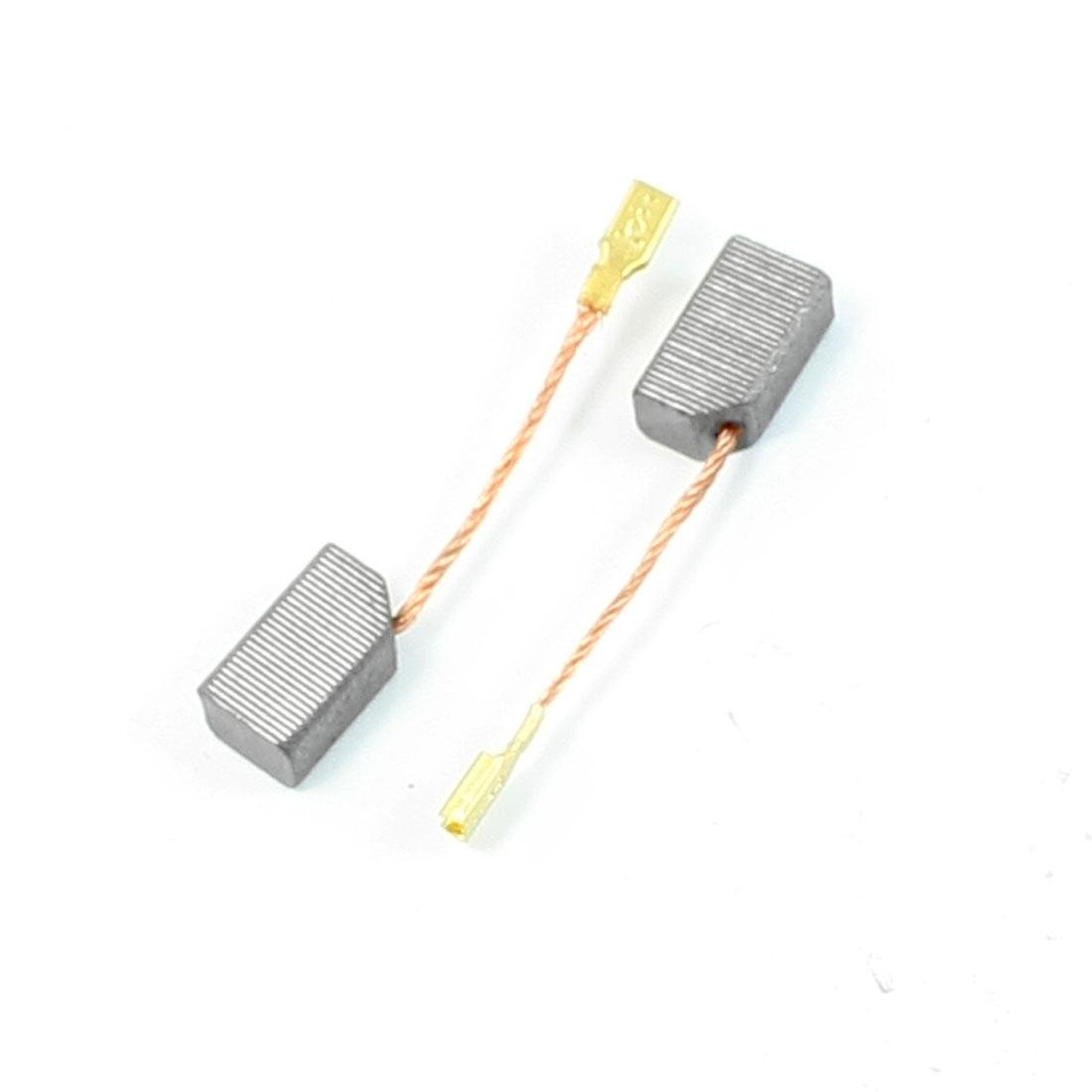 2 Pcs Motor Carbon Brushes 13mm x 8mm x 6mm for Dewalt 100 Angle Grinder