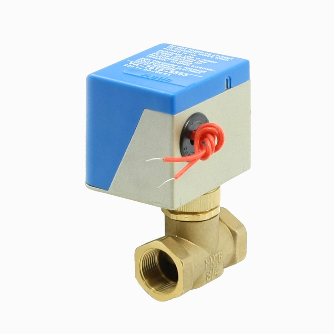 "3/4"" Thread Dia Wired Electrical Solenoid Control Valves 220VAC 50/60Hz"