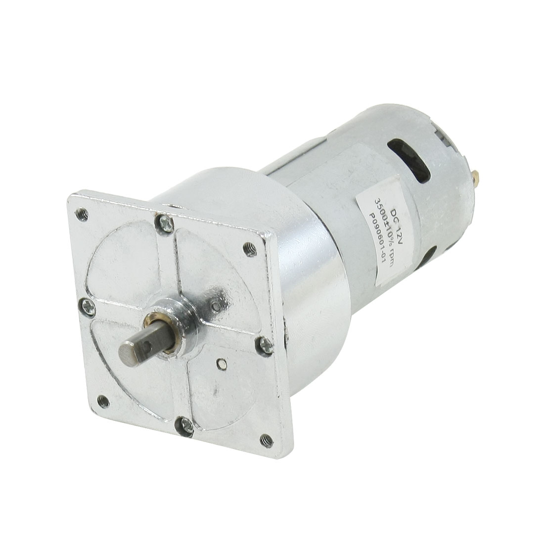 12V 3500RPM 2 Pole Connector Cylindrical Permanent Magnet DC Motor