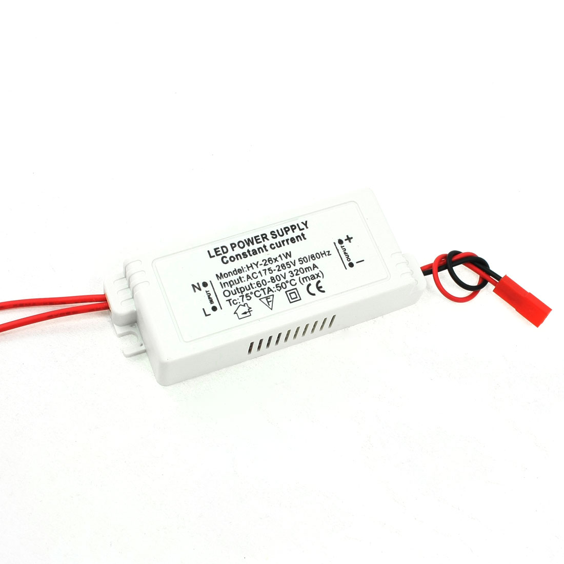 AC 175-265V to 60-80V 320mA 26X1W Driver Power Supply Adapter for LED Strip Light