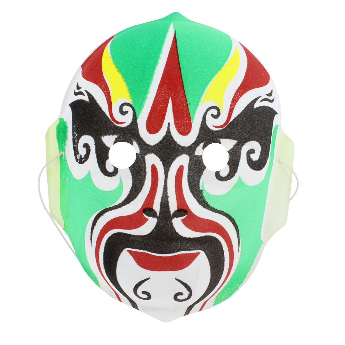 White Black Red Yellow Green Halloween Parties Peking Opera Face Mask