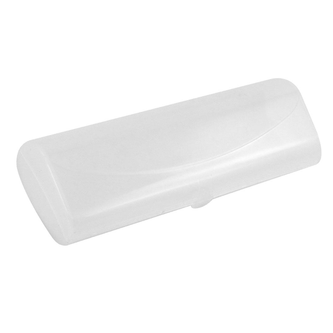Clear White Plastic Sunglasses Eyeglasses Glasses Holder Box Case