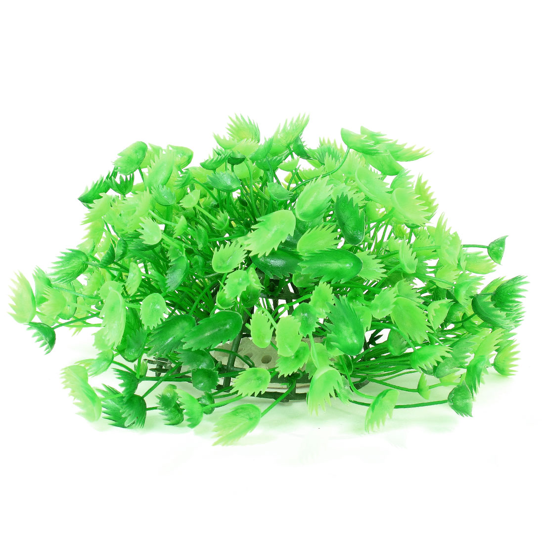 "Green Emulational Fish Tank Aquarium Grasses Decor 4.7"" High"