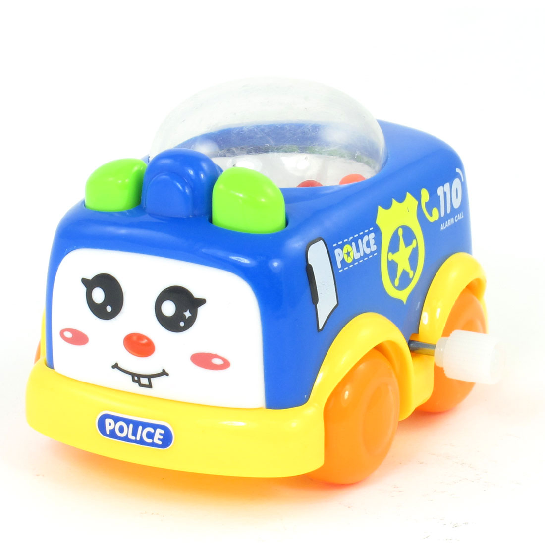 Multicolored Plastic FBI Police Model Car Toy for Child