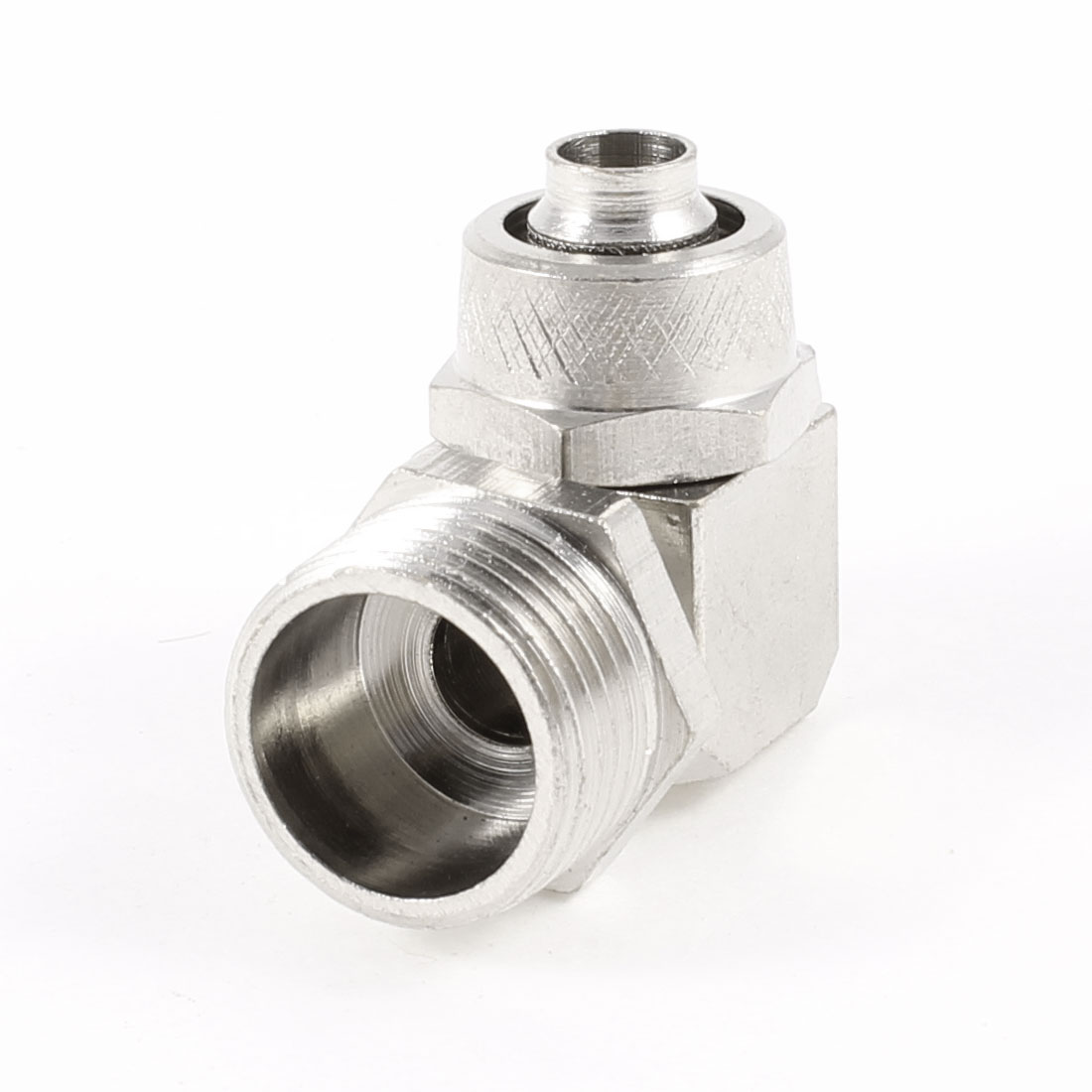 16mm Male Thread L Shaped Quick Joint Connector for 6mmx10mm Air Hose