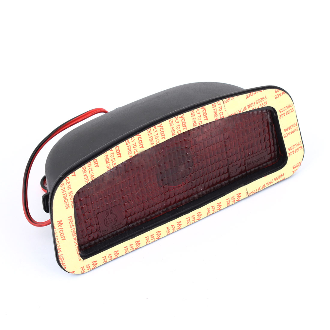 DC 12V 21W Black Plastic Casing Rear Red Brake Light for Vehicle Car